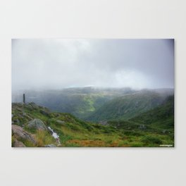 Norway hdr Canvas Print