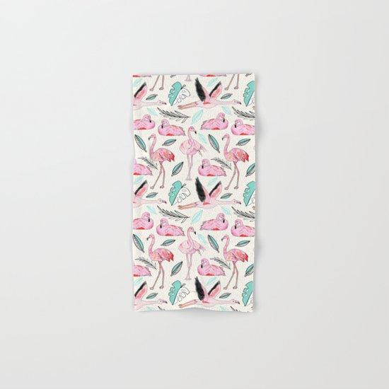 Flamingos Forever Hand & Bath Towel