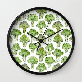 Broccoli - Formal Wall Clock