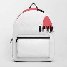 mac miller x rip Backpack
