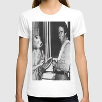 chad wys T-shirts featuring Ted Bundy, Chad the Chicken by Chad M. White