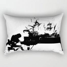 Pianist Passion Rectangular Pillow