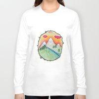 folk Long Sleeve T-shirts featuring Folk by Oh Lapislazuli