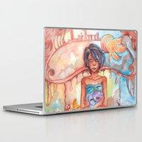 libra Laptop & iPad Skins featuring Libra by Trenita