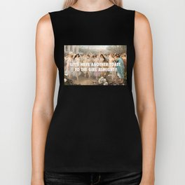 let's have another toast to the girl almighty Biker Tank