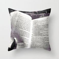 Quiet Book To MySelf Throw Pillow