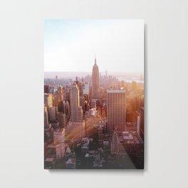 New York City Skyline - Vertical Metal Print