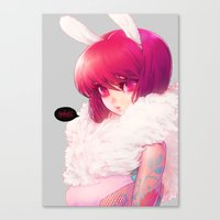 barachan Canvas Prints featuring synthetic by barachan