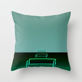 Waited for hours Throw Pillow
