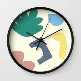 Blobby No.10 Wall Clock
