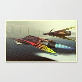 Gosper Glider Canvas Print