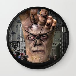 Frankenfoot Wall Clock