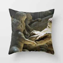 See You Later Alligator Throw Pillow