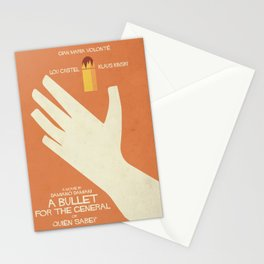 A Bullet for the General, Movie with Klaus Kinski, Gian Maria Volonté. Spaghetti Western Poster Stationery Cards