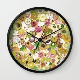 Fruit Madness (All The Fruits) Vintage Wall Clock