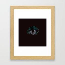 Pearl of Blue Shells Framed Art Print