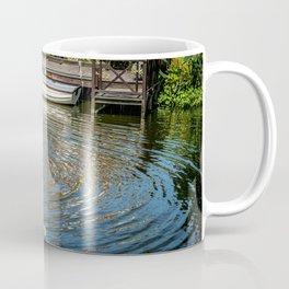 Fountain and Boat Coffee Mug