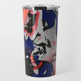 Eight colors in the bucket Travel Mug
