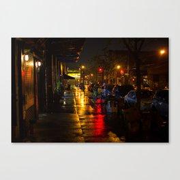 Rain Light Canvas Print