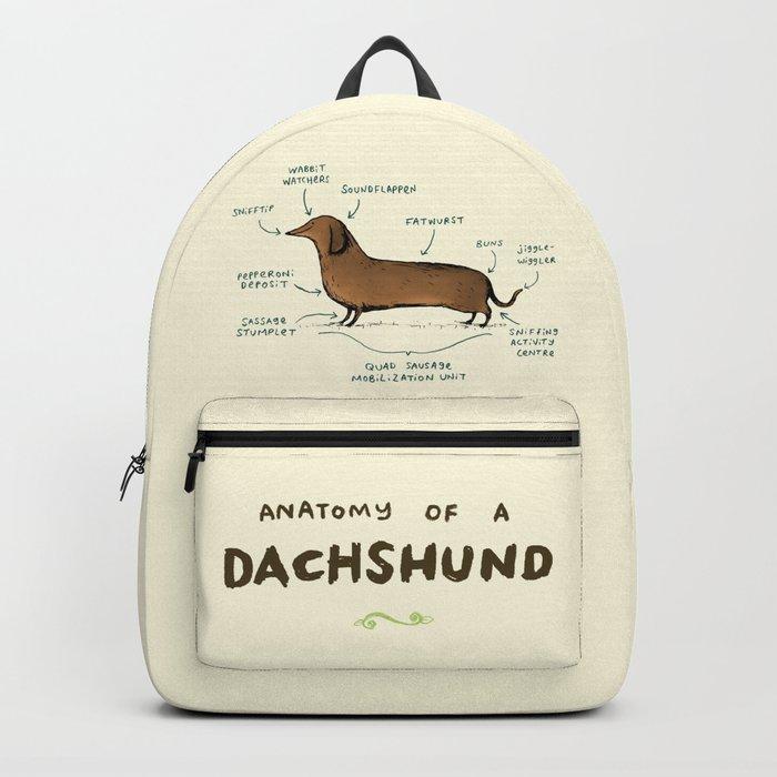 Anatomy of a Dachshund Rucksack