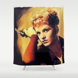 Judy Holliday, Actress Shower Curtain