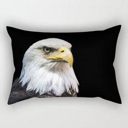 Majestuous Bald Eagle Rectangular Pillow