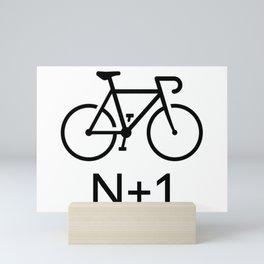 N+1 Bike Mini Art Print