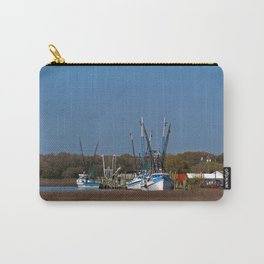 South Carolina Shrimp Boats Carry-All Pouch