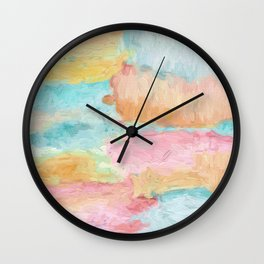 Abstract Watercolor - Design No.1 Wall Clock