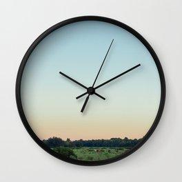 Morning Gathering Wall Clock