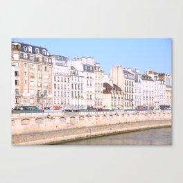 Bright Paris Canvas Print