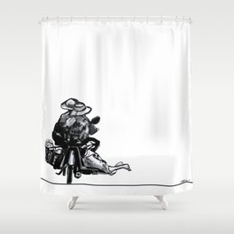 I'll Take My Ducks to Go Shower Curtain