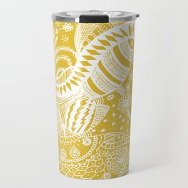 Yellow nature Travel Mug
