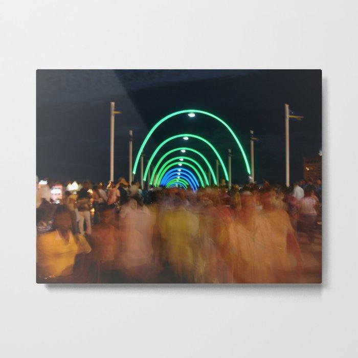 Party Bridge Metal Print