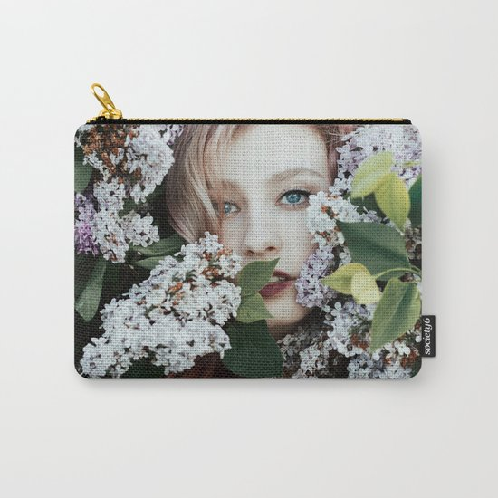 Lilac girl Carry-All Pouch