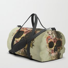 Garden Skull Light Duffle Bag