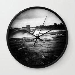 Summer Falls Wall Clock