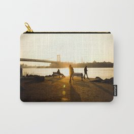 A Brooklyn Sunset Carry-All Pouch