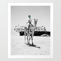 Camel on Fleek Art Print