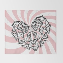 Love Conquers Hate Throw Blanket