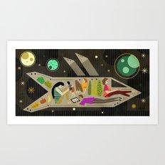 Generation Ships Art Print