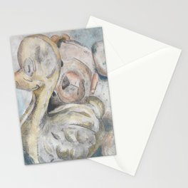 duck and bear Stationery Cards