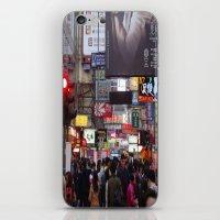 hong kong iPhone & iPod Skins featuring Hong Kong  by ENGINEMAN - JOSEPHAMT