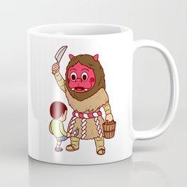 Baby Faced Namahage Coffee Mug