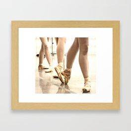 en Pointe Framed Art Print