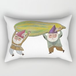 Squash Gnomes Rectangular Pillow