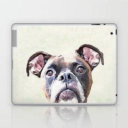 Brindle Boxer Dog Laptop & iPad Skin