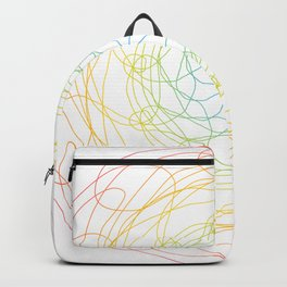 Pansexual Pride Spirograph Backpack
