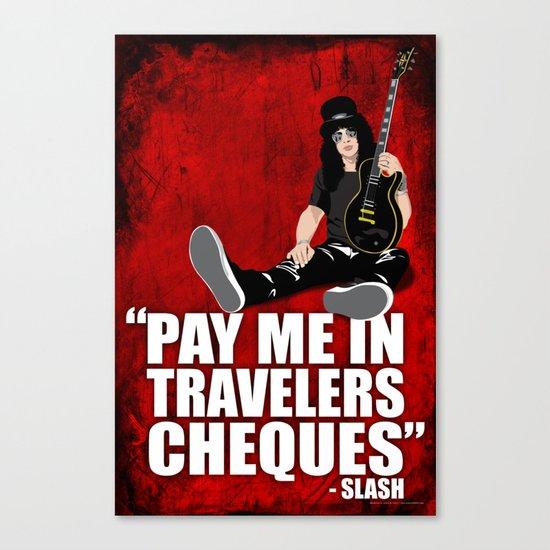 SLASH Quote Canvas Print