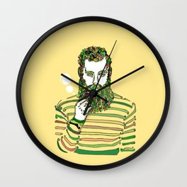 Sea Wolf Ghost (Yellow Version) Wall Clock